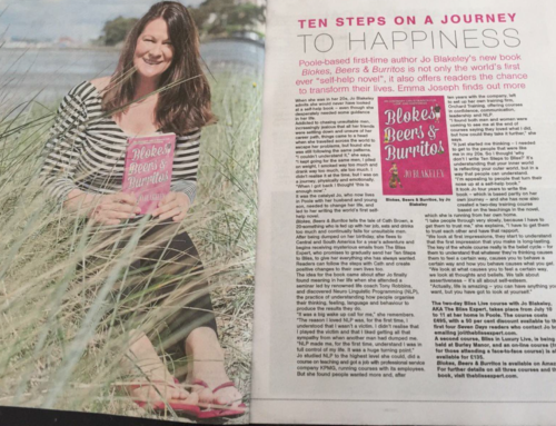 Jo Blakeley interview in Seven Days magazine