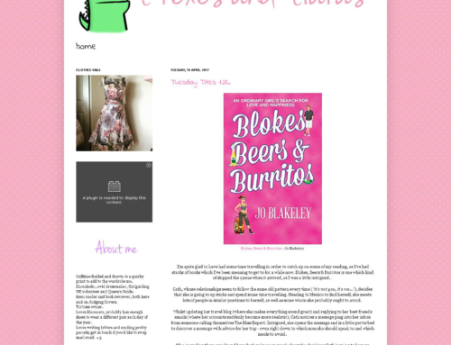 Book review in T'rexes and Tiaras